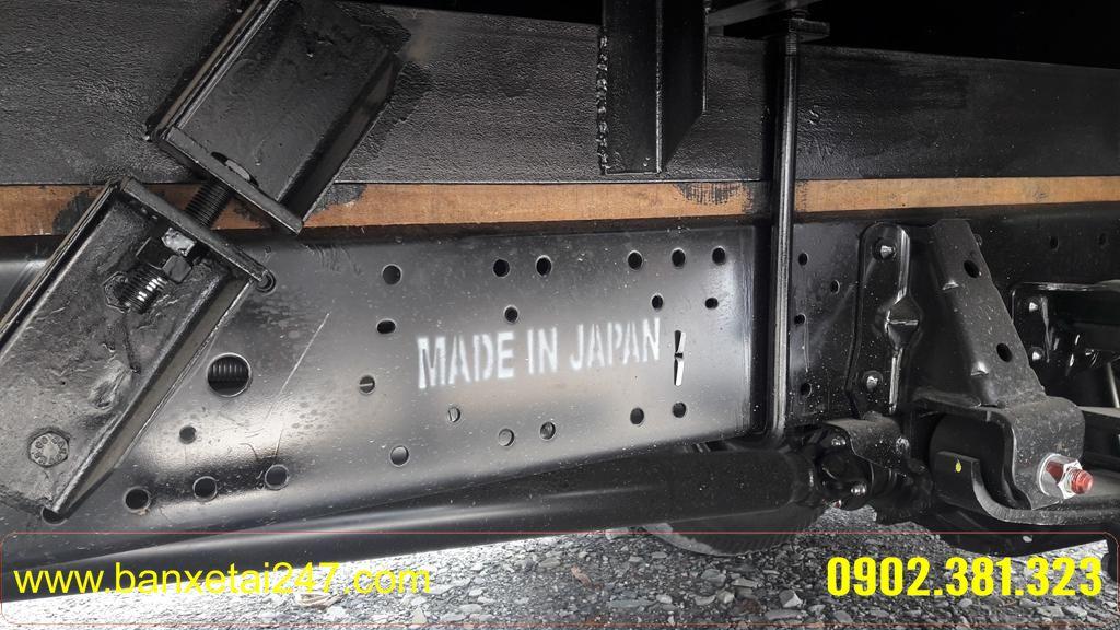 Khung gầm Chassi thùng kín isuzu qkr55 tải trọng 2t4