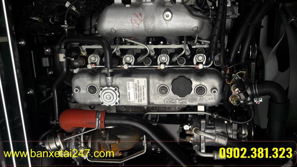Động cơ xe tải ISUZU QKR55 tải trọng 2t4