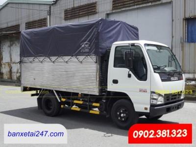 Bán xe tải Isuzu 1t9 1.9 tấn thùng mui bạt 2020 QKR270 tại Tỉnh Tiền Giang
