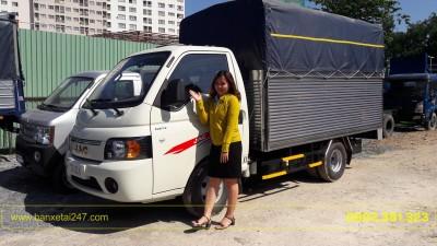 Xe tải Jac 990kg X99 thùng bạt 2018