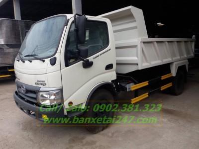 Xe ben Hino WU342L 130PS 4.5 tấn