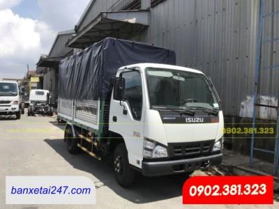 Giá xe tải isuzu 1.9 Tấn thùng mui bạt 2020 tại  Tỉnh Bến Tre năm 2020