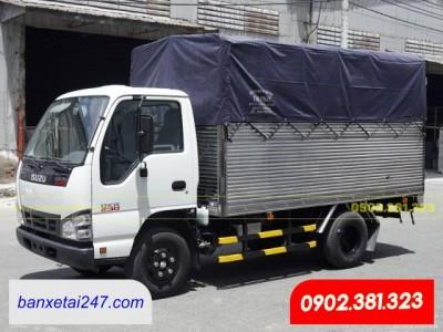 Bán xe tải Isuzu 1t9 thùng mui bạt 2020 QKR270 tại Tỉnh Long An