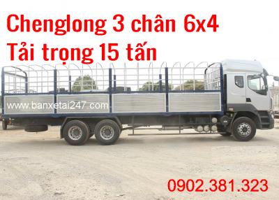 Giá Bán Xe Tải Chenglong 3 Chân 2018 Trả Góp Giá Rẻ chỉ 100tr