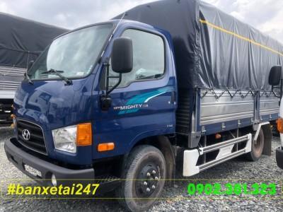 Xe tải Hyundai 1.9 tấn thùng mui bạt HD75S 2018 EURO 4