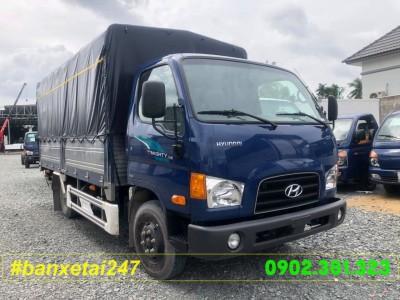 Xe tải Hyundai HD65S 1.8 tấn thùng bạt 2018 EURO 4