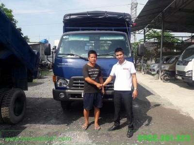 Xe tải Hyundai 1.9 tấn thùng lửng HD75S 2018 EURO 4