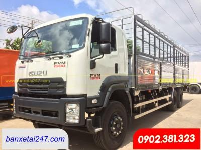 Xe tải Isuzu 3 chân 15 tấn FVM1500
